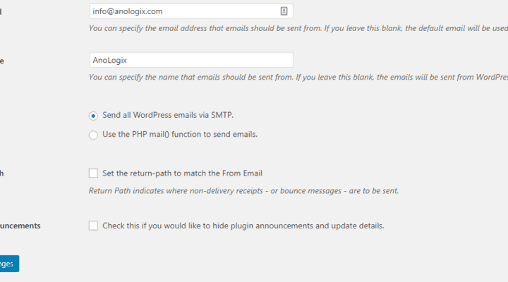 How to setup WordPress to Use Office 365 SMTP