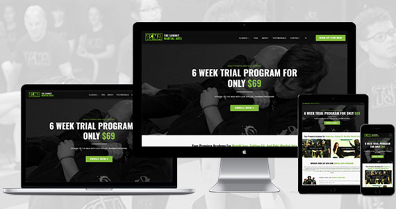 TSMA - The Summit Martial Arts - AnoLogix Responsive Web Design