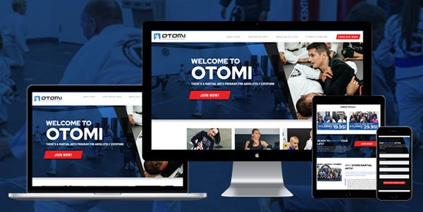 Otomi Martial Arts - AnoLogix Featured Website - 1