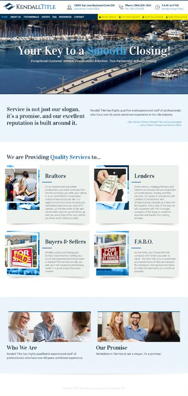 Kendall Title - AnoLogix Featured Website - 2