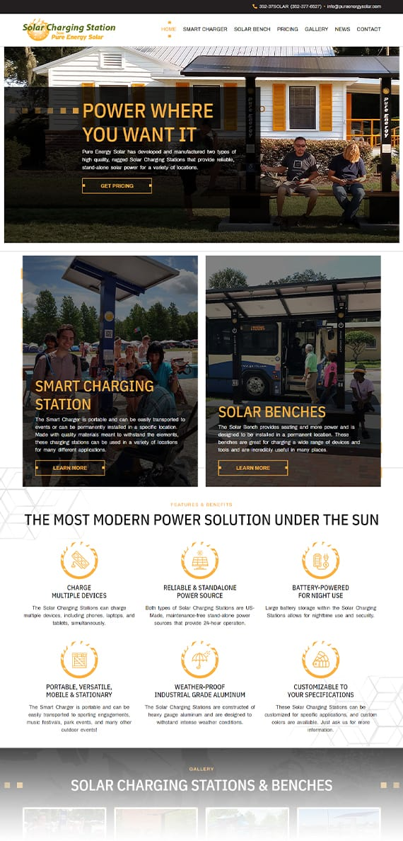 Pure-Energy-Solar-Charging-Station-AnoLogix-Featured-Websites-1